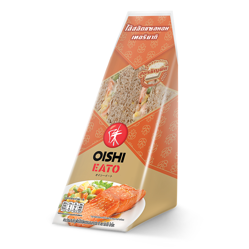 Oishi Eato Sandwich Salmon Salad with Teriyaki